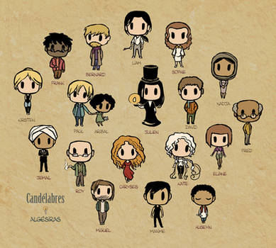 Candelabres, chibi style