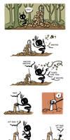 Pet Wendigo strip 16 - Shrooms