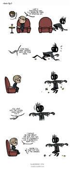 Pet Wendigo strip 27 - Suit - Part 3 by Algesiras