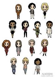 14 Ladies of Hannibal by Algesiras