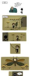 Pet Wendigo strip 28 - Firefly Man by Algesiras