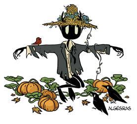 Scarecrow Wendigo by Algesiras