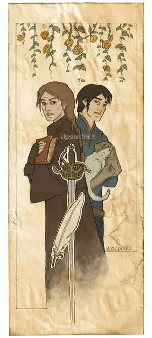 Swordspoint bookmark