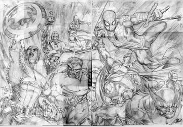 THE MARVELS by comicsofjoebennett