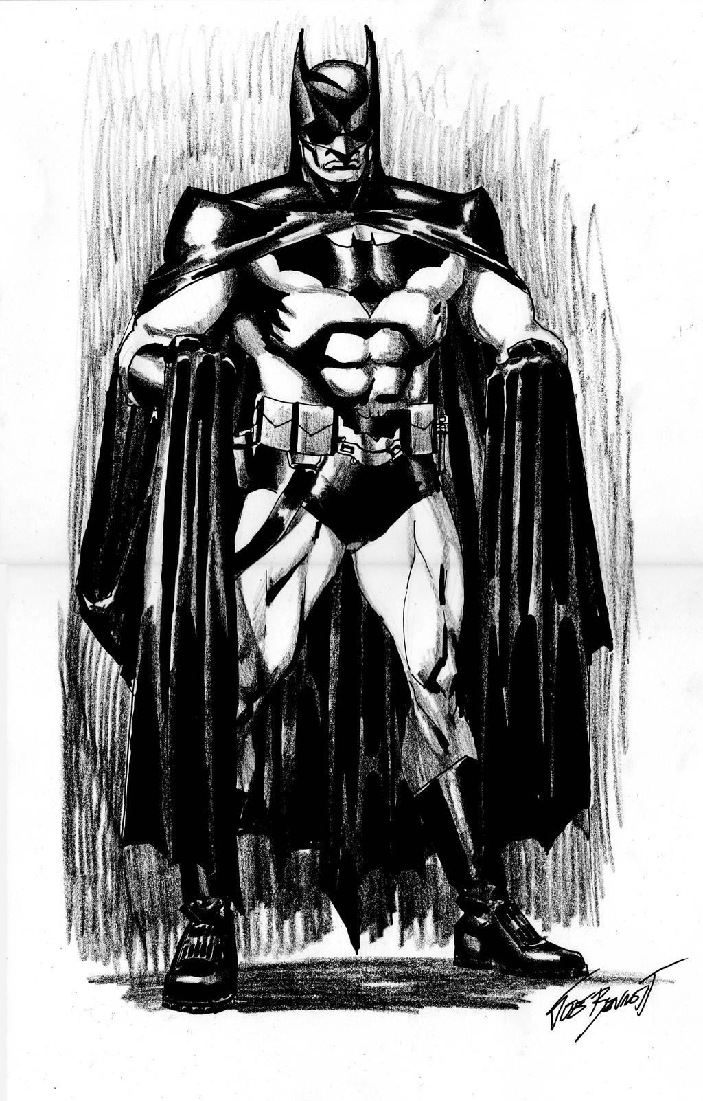 batmansketch by comicsofjoebennett