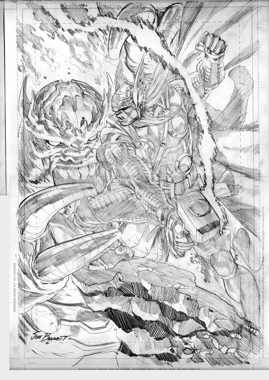 god of thunder by comicsofjoebennett