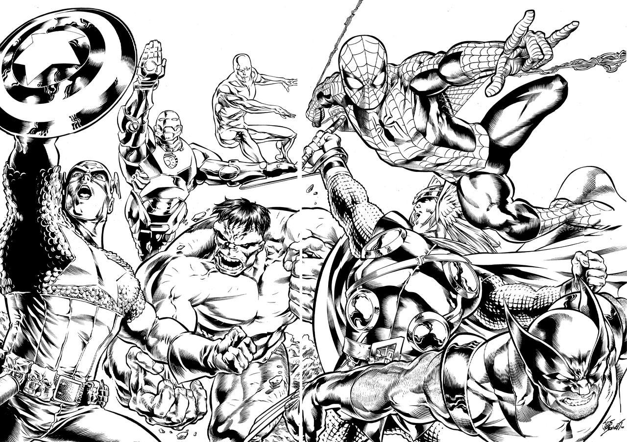 marvels inks by comicsofjoebennett