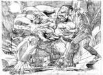 Immortal Hulk # 01 Page # 18-19 Hirez