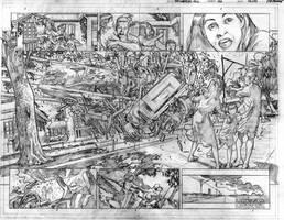 The Immortal Hulk # 07 Page # 02-03 Pencils