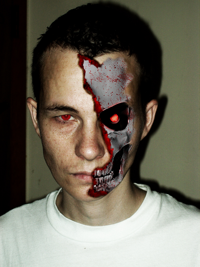 Terminator face by pasadenapauly on DeviantArt