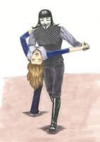 Tango Lesson -- V for Vendetta by EvelynMusing