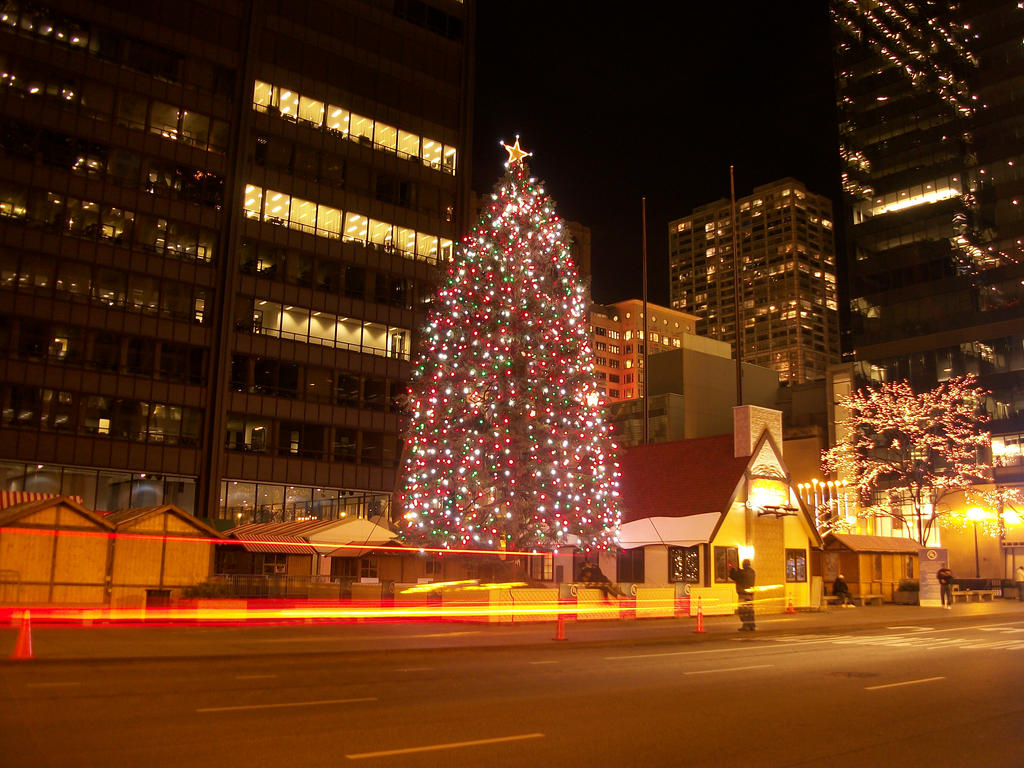 christmas tree chicago by dreamofyou - Christmas Trees Chicago