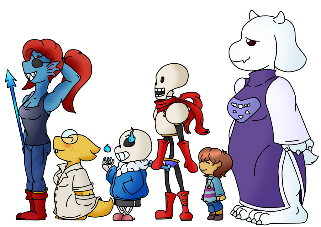 Undertale Pacifist by JoePhilliacTheBlack