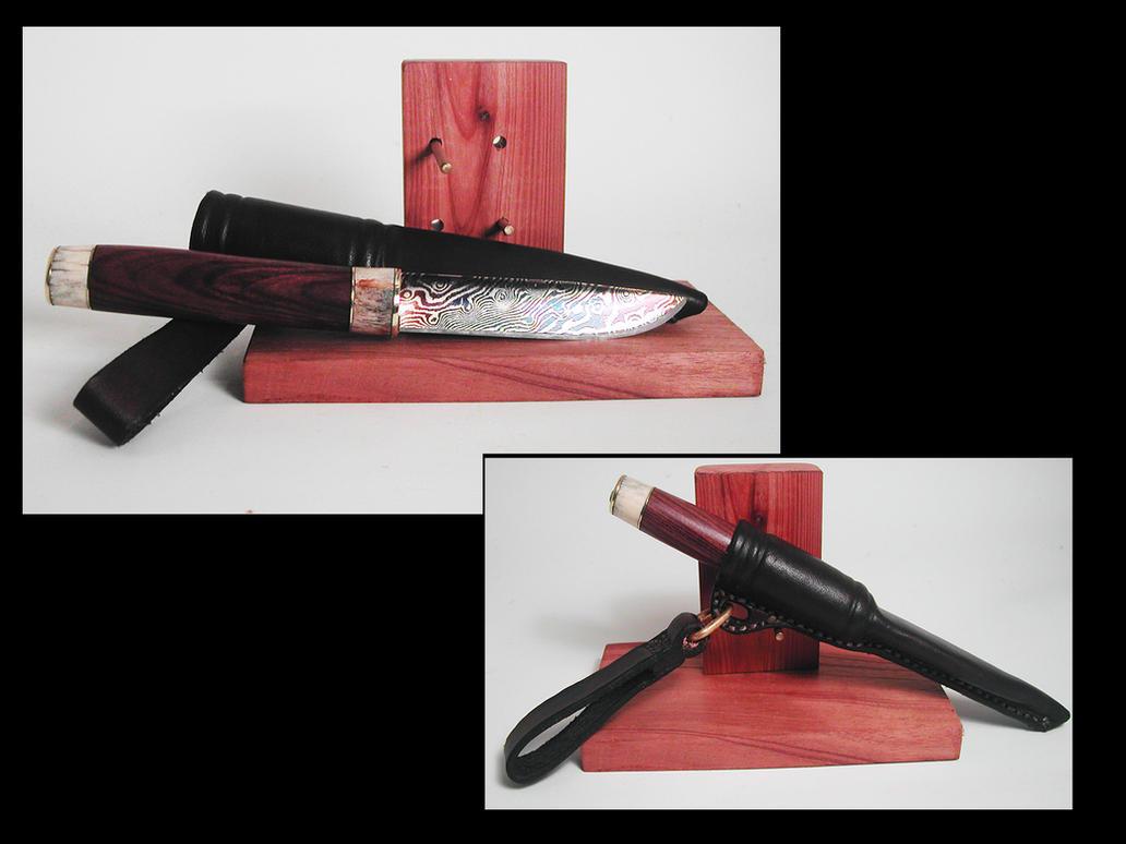Mora Style Belt Knife by wolfofragnarok