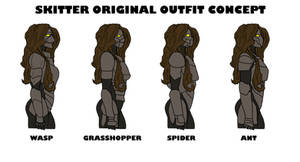Skitter Original Outfit Concepts (Worm)