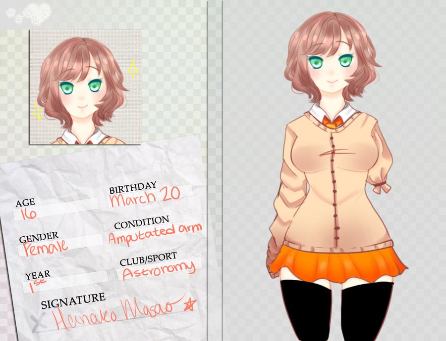 YH: Hanako by ClassyGuppy