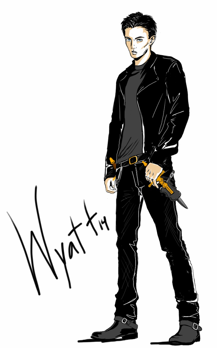 The Sanctum Characters:Wyatt by MuNafusa