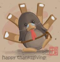Happy Thanksgiving by dragenki
