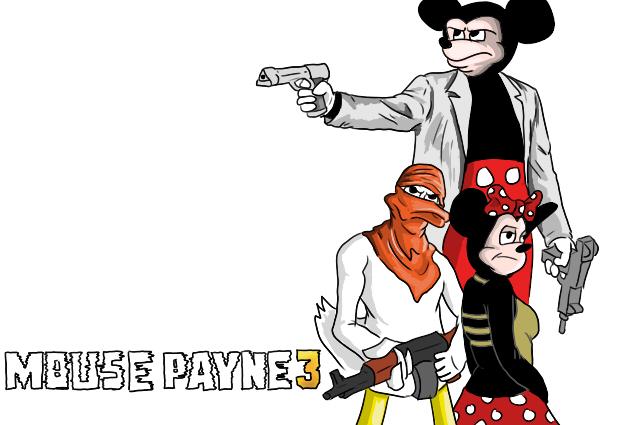 Mouse Payne 3 by OllieLamontagne