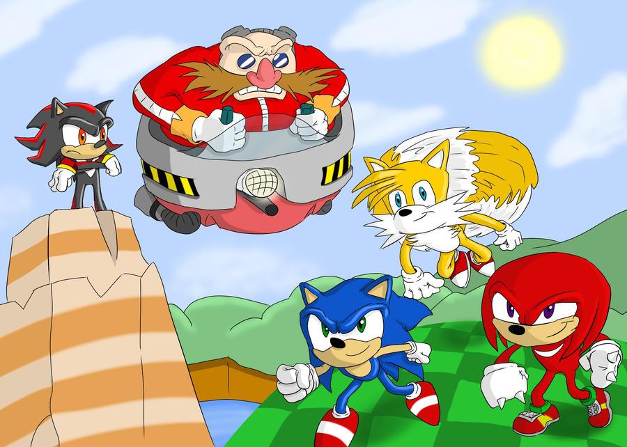 Sonic by OllieLamontagne