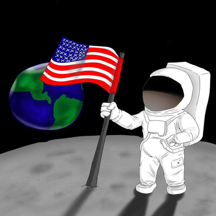 Neil Armstrong by OllieLamontagne