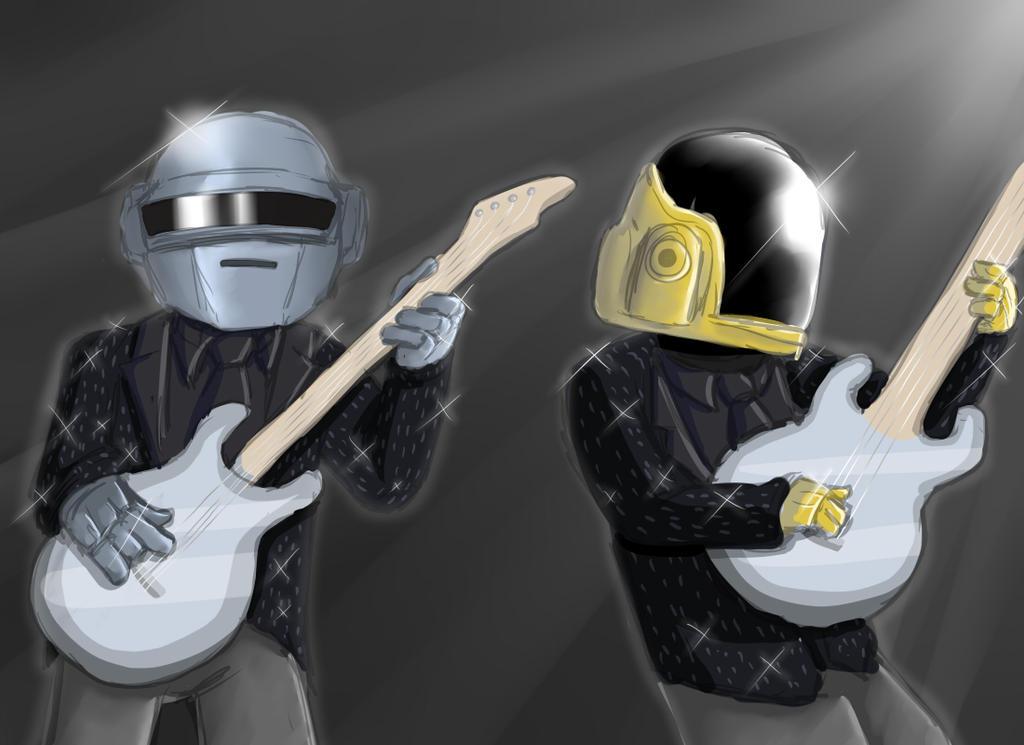 Daft Punk by OllieLamontagne