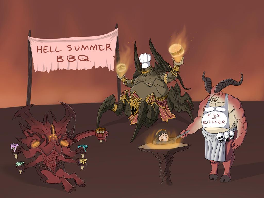 Diablo Summer BBQ by OllieLamontagne