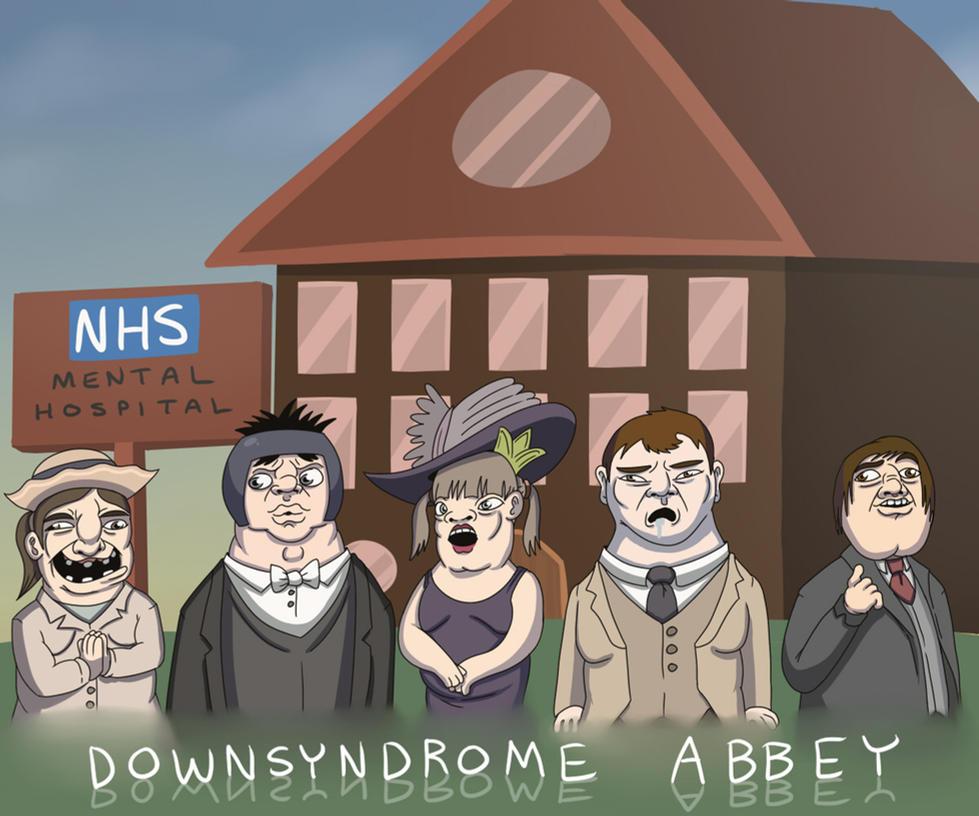 Downsyndrome Abbey by OllieLamontagne