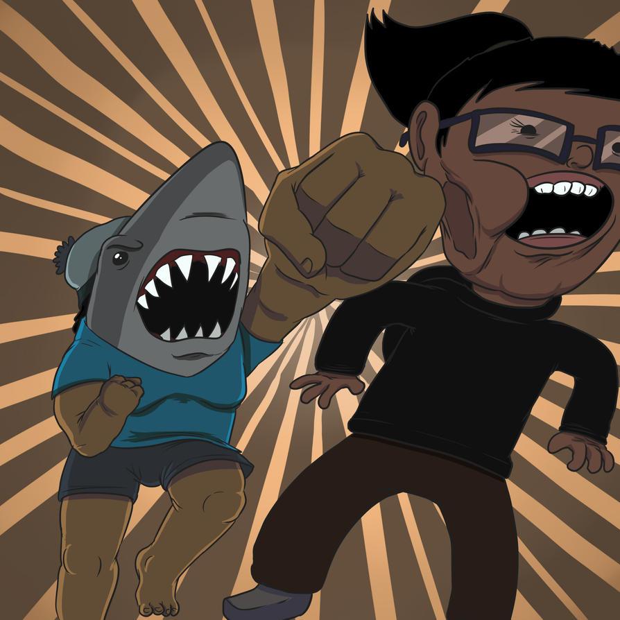 Sharkeisha Strikes by OllieLamontagne