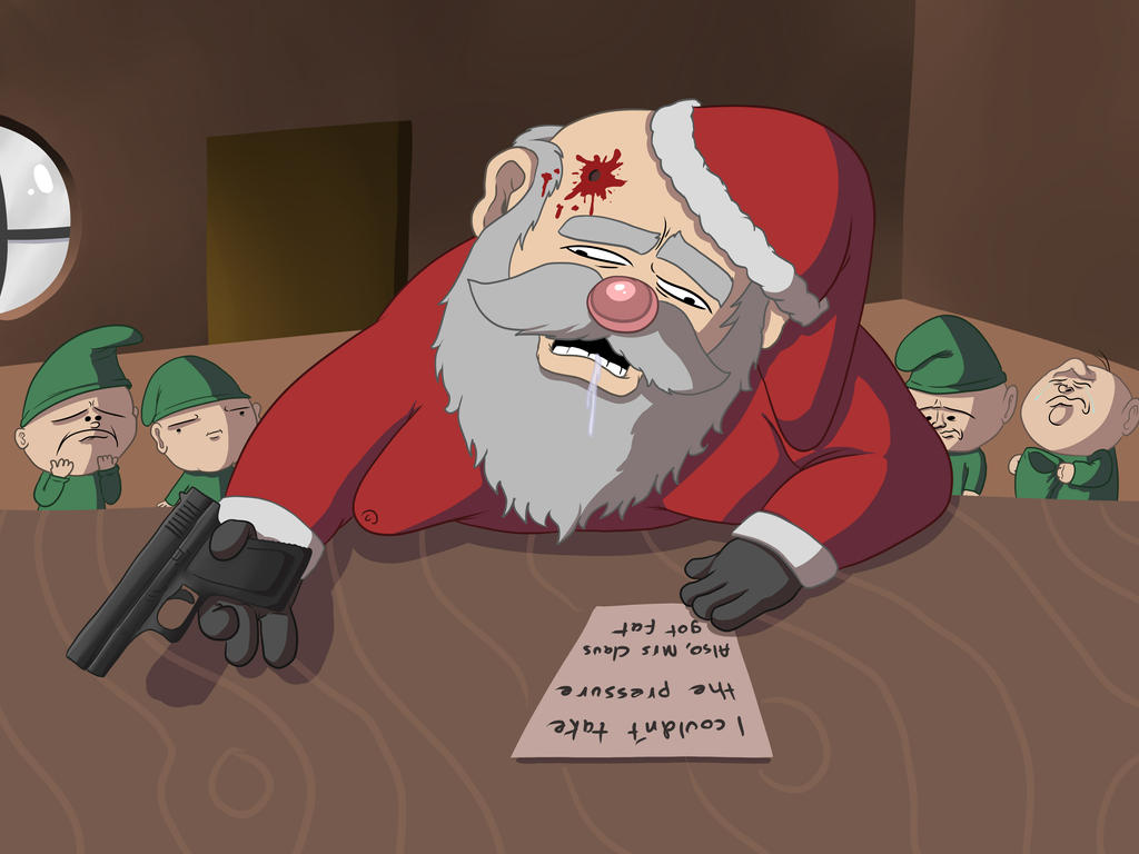 Santa's Last Christmas by OllieLamontagne