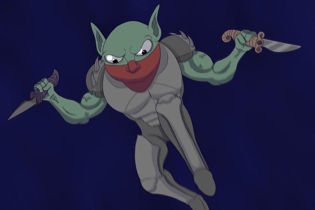 Goblin Assassin by OllieLamontagne