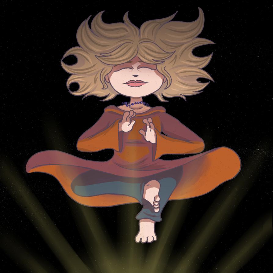 Zen-girl by OllieLamontagne