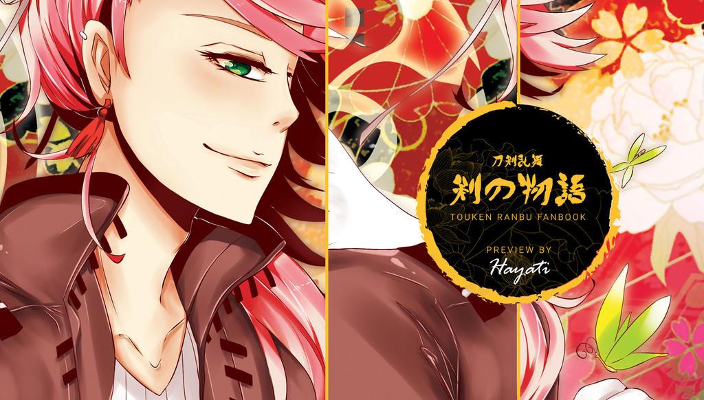 Touken Ranbu - Ken No Monogatari (Artbook Preview) by hayati83