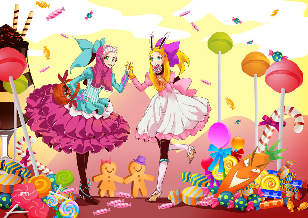 Candy candy candy poster by hayati83