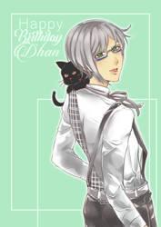 Happy Birthday Dhan by hayati83