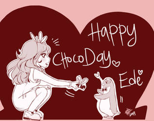 Choco for Edeswen by hayati83