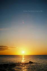 Sunrise on the Lake by Jayelless