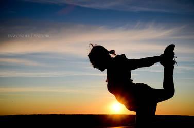 Sunrise Yoga by Jayelless