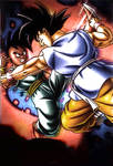 Uub vs Goku Gt