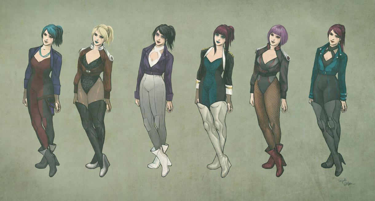 Cyberpunk Woman Concept by Angela-OHara