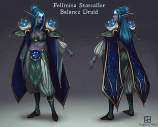 Fellmina Armor Design by Angela-OHara