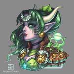 Ysera the Dreamer Charm