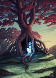 The Faerie Tree by Angela-OHara