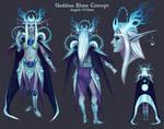 Goddess Elune Concept