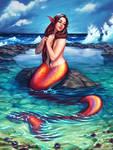 Mermaid in a Tide Pool