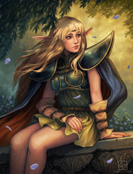 Deedlit - Record of Lodoss War by Angela-OHara