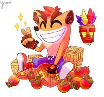 Crash Bandicoot by Yereren