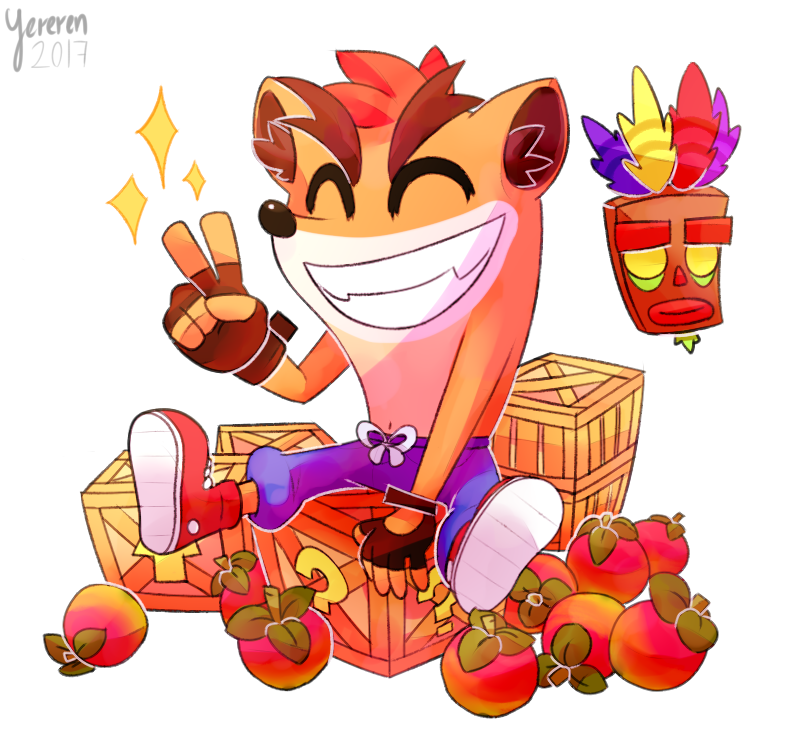 Image result for crash bandicoot cute