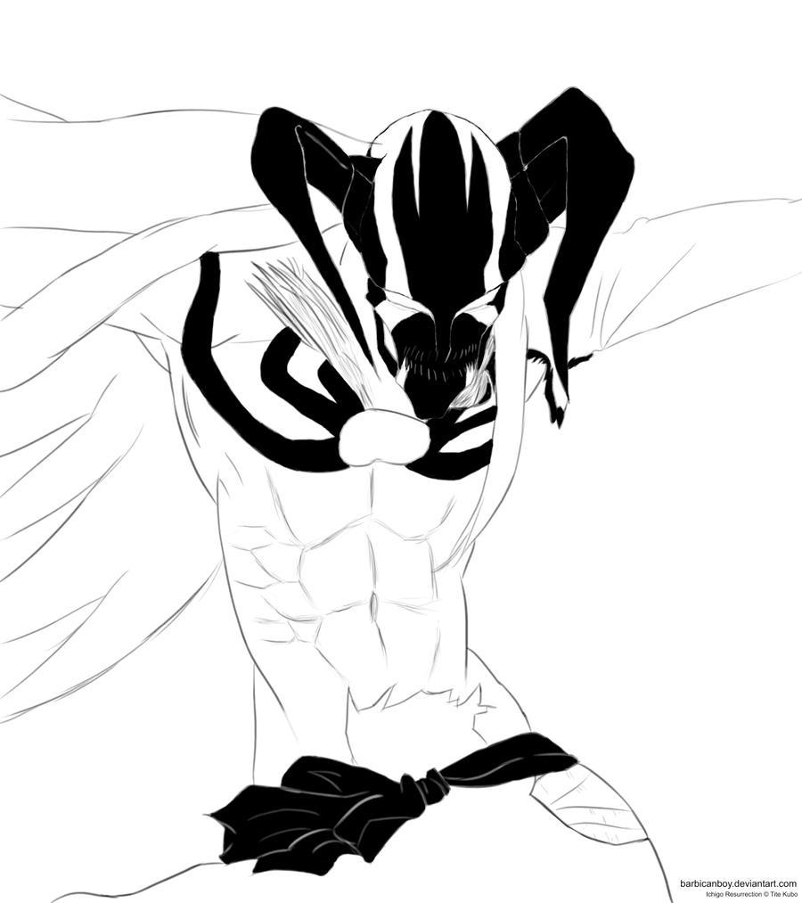 Ichigo New Inner Hollow By Barbicanboy On DeviantArt