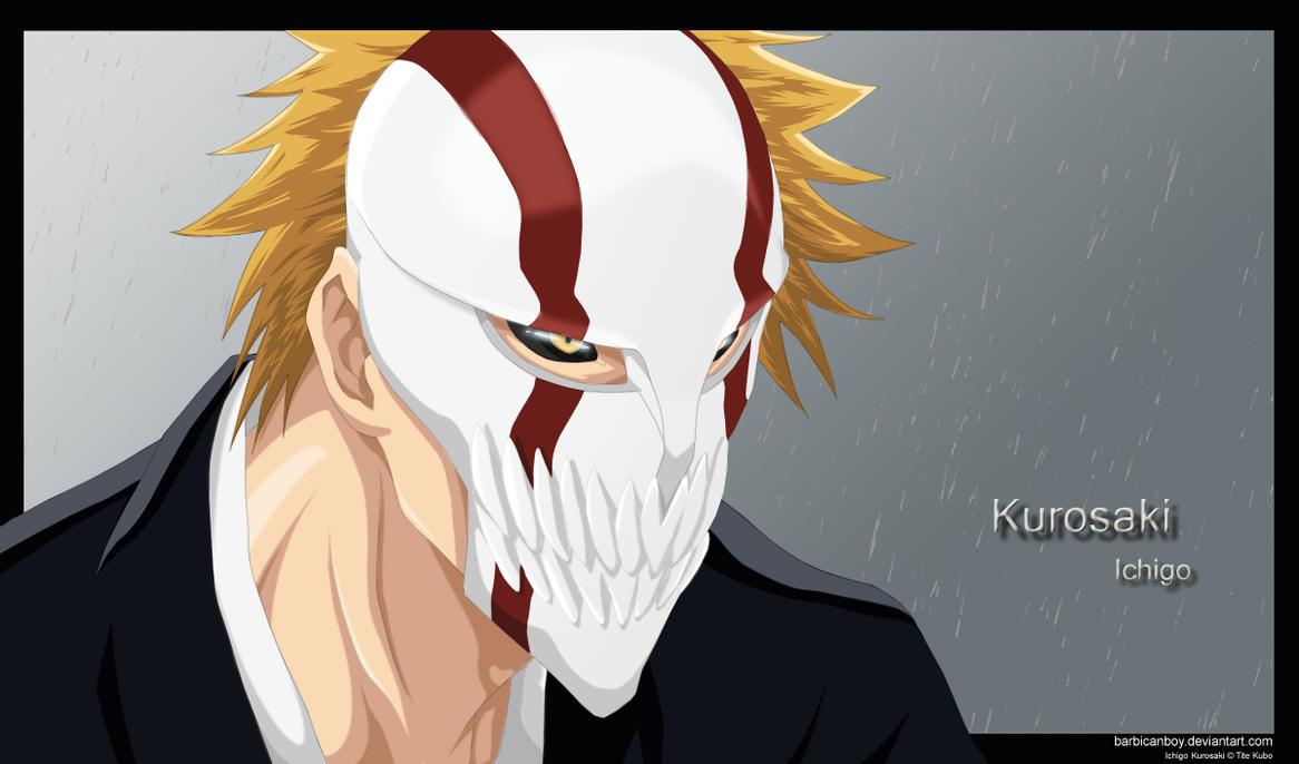 В каких сериях у ичиго появляется маска